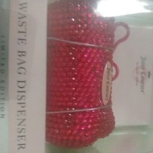 😍 🆕pink bling juicy couture doggie bag holder